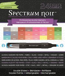 Amazon: Crafter's Companion Spectrum Noir Lights 24 Set