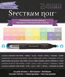 Amazon: Crafter's Companion Spectrum Noir Pastels 24 Set