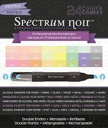 Amazon: Crafter's Companion Spectrum Noir Pastels 24 Set