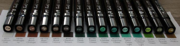 Touch Twin Koffer B Kappenfarbe - Vergleich 2