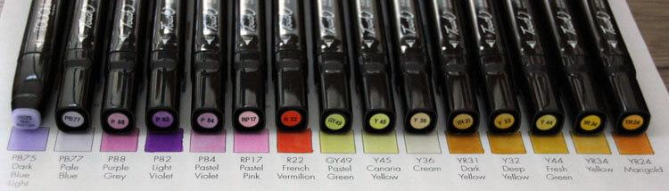 Touch Twin Koffer B Kappenfarbe - Vergleich 4