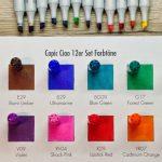 Farbverbindlichkeit von Markerkappen
