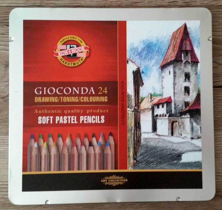 Koh-I-Noor Drawing Soft Pastel Pencils