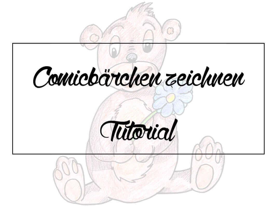 Zeichnen für Kinder: Comicbär zeichnen
