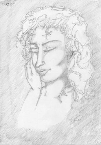 2001 - Bleistiftportrait