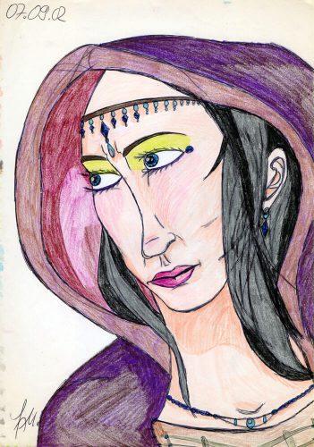 2002 - Portrait einer Magierin