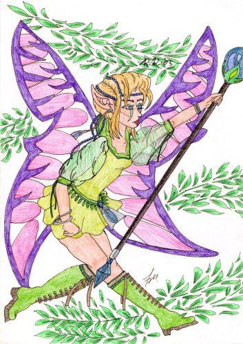 2003 - Elfe koloriert