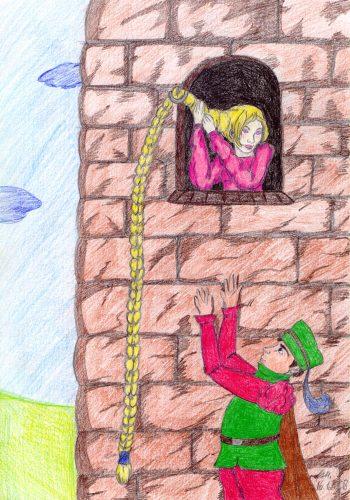2008 - Rapunzel und der Prinz am Turm