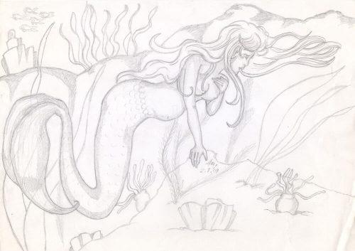 2009 - Schwangere Meerjungfrau