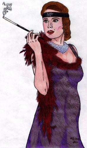 2012 - 20er Jahre Lady