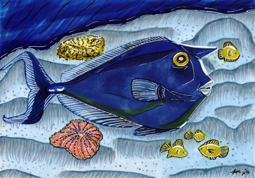 2014 - Bunter Fisch