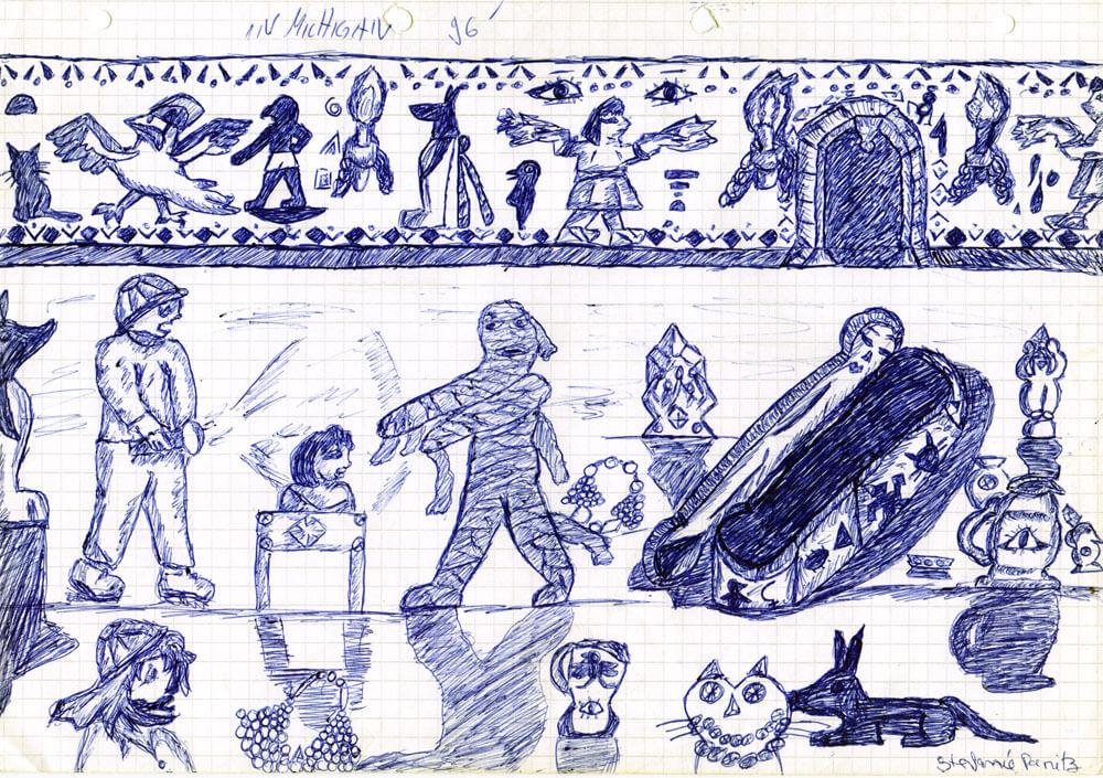 1996 - Mumie im ägyptischen Grab