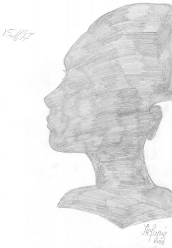 1997 - Silhouette einer Frau (Portrait)