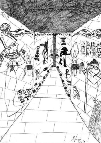 1998 - Ägyptischer Gang