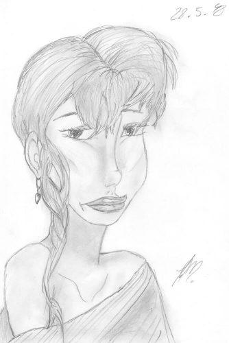 1998 - Bleistift Portrait