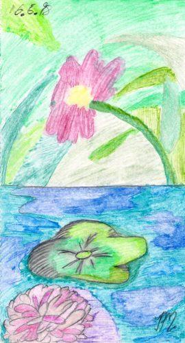 1998 - Aquarell Blumen