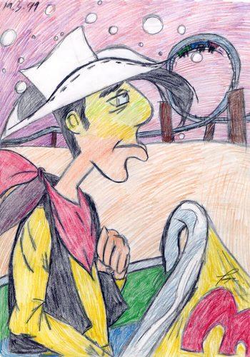 1999 - Lucky Luke in der Achterbahn