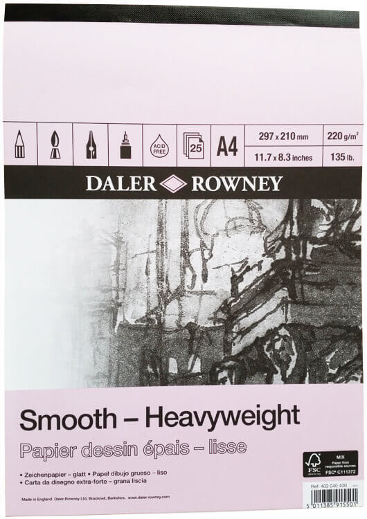 Daler Rowney - Smooth Heavyweight