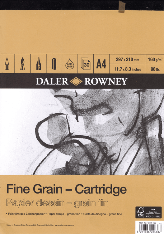 Daler Rowney Fine Grain - Cartridge