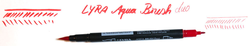 Aqua Brush Maltest