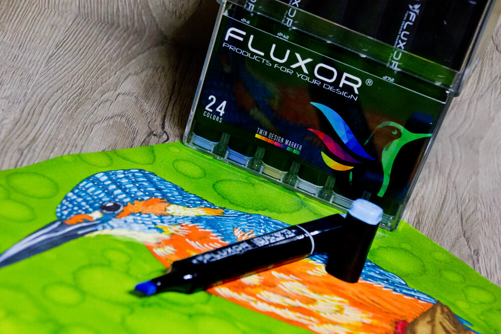 Review & Vergleich: Fluxor Twin Design Marker