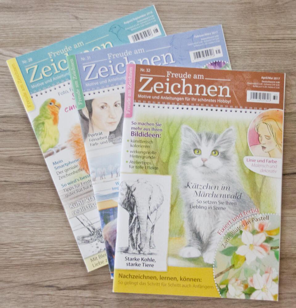 Das Kunstmagazin Freude am Zeichnen
