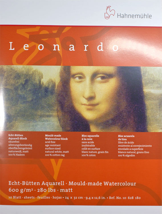 Hahnemühle Leonardo Aquarellpapier