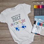 Mein Einstieg in die Textilmalerei: Babykleidung