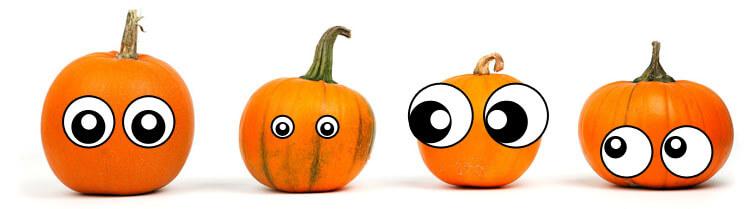 Lustige Augen auf Obst & Gemüse photoshoppen