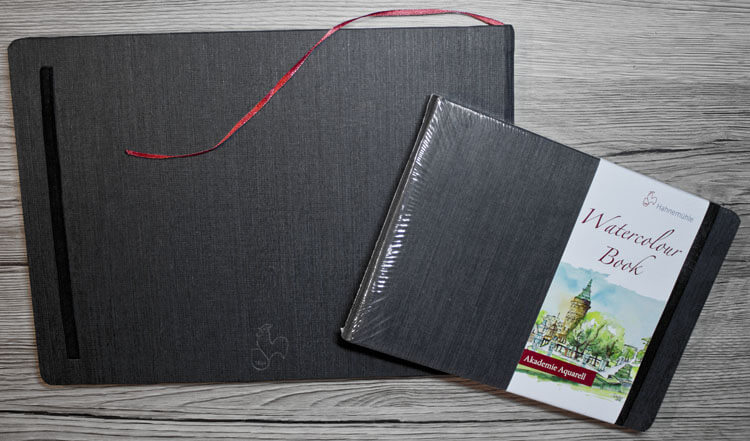 Hahnemühle Watercolour Book - Aquarellpapier
