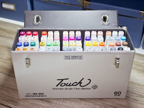 Touch Twin Brush - 60er Koffer