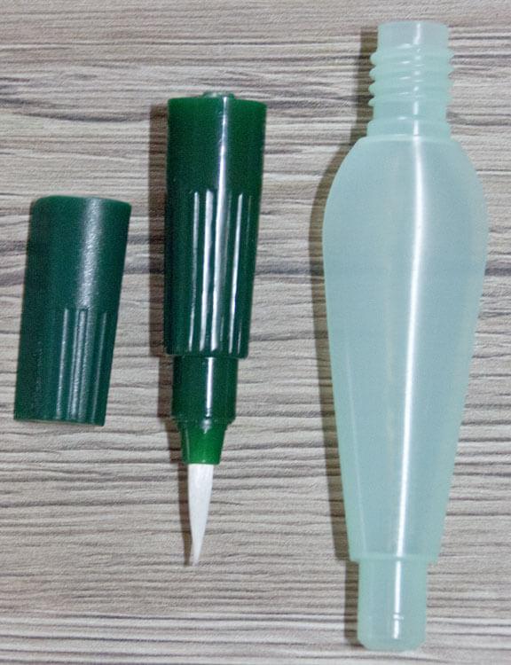Faber-Castell Wassertankpinsel auseinander geschraubt