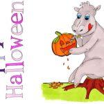 5 gruselige Ausmalbilder zu Halloween