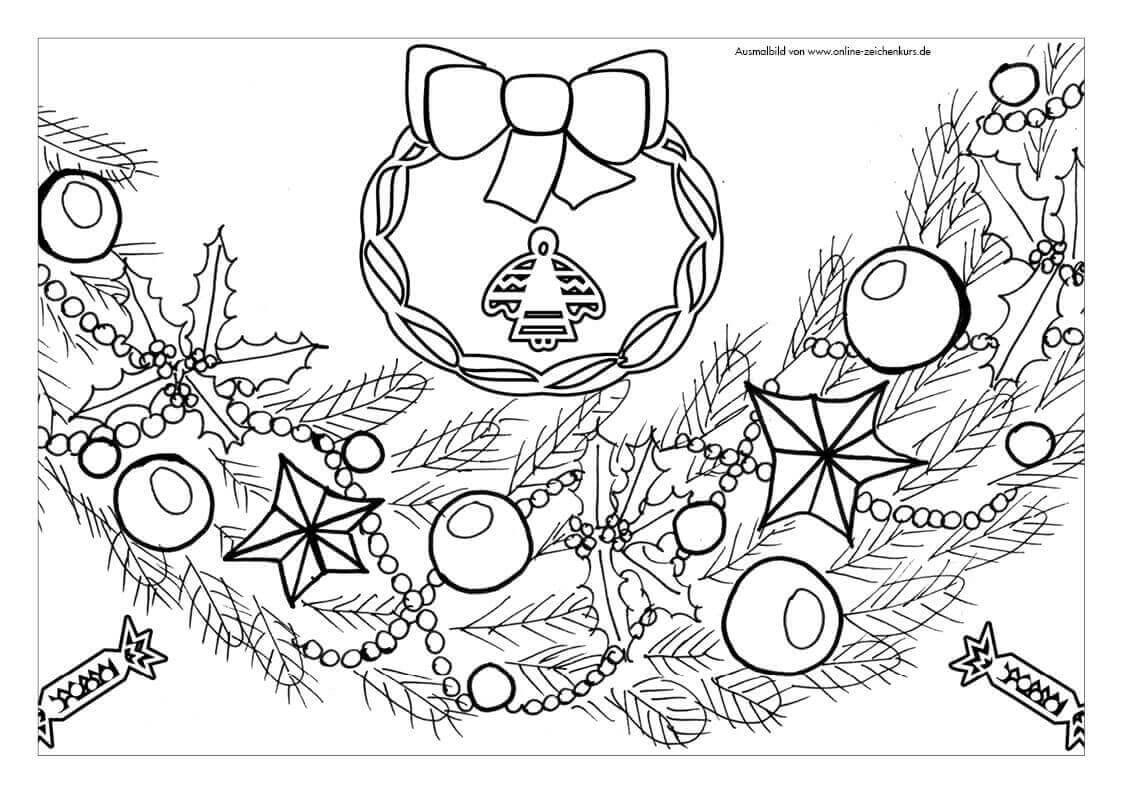 8 feierliche weihnachten ausmalbilder zum herunterladen ausdrucken