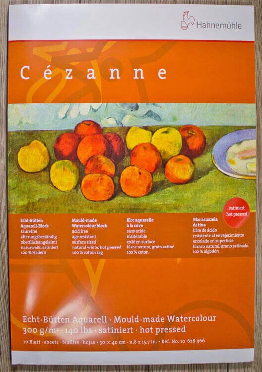 Hahnemühle Cezanne Aquarellpapier