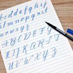 Meine ersten Erfahrungen mit Brush Lettering