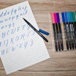 Durch Zeichnen besser schreiben lernen und die Handschrift verbessern