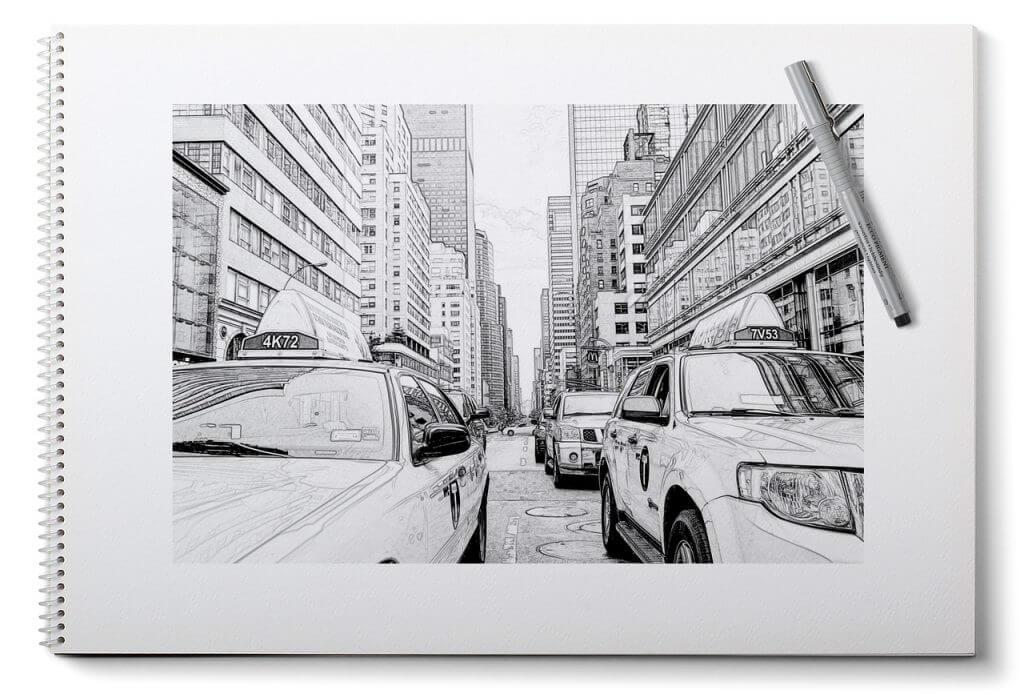 Urban Sketching - unterwegs malen und zeichnen