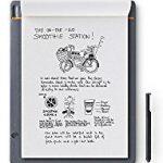 Amazon: Wacom Bamboo Slate Smartpad A4 | Großes Notepad mit Digitalisierungs-Funktion inkl. Eingabestift mit Kugelschreiber-Mine | Kompatibel mit Android und Apple