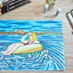 Summer '18 – Schönheit im Pool