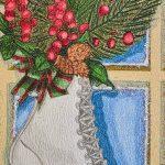 Schlittschuh mit Prismacolor malen