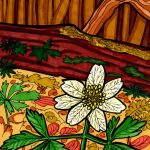 Postkarte Waldblume Touch Twin Markerkolorierung 6