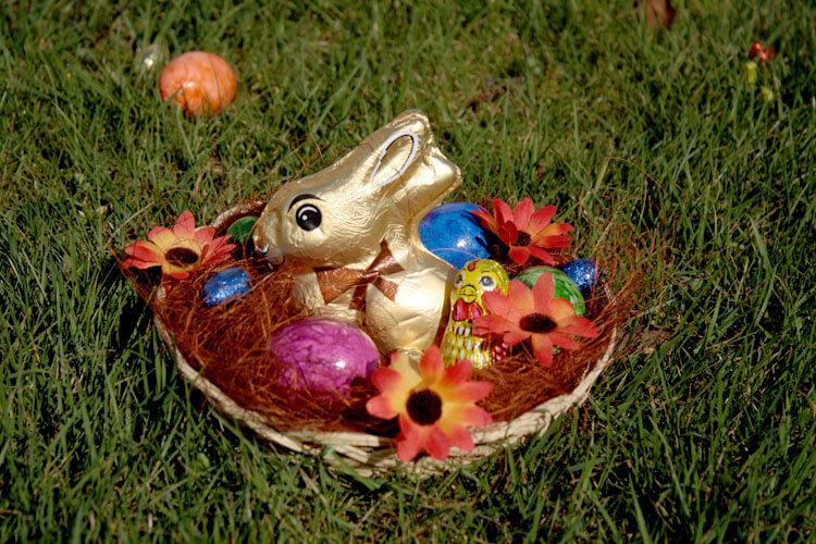 Fotovorlage zum Abzeichnen: Ostern