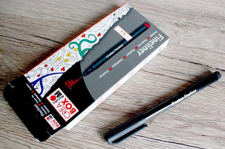 Marabu Crea Box Fineliner