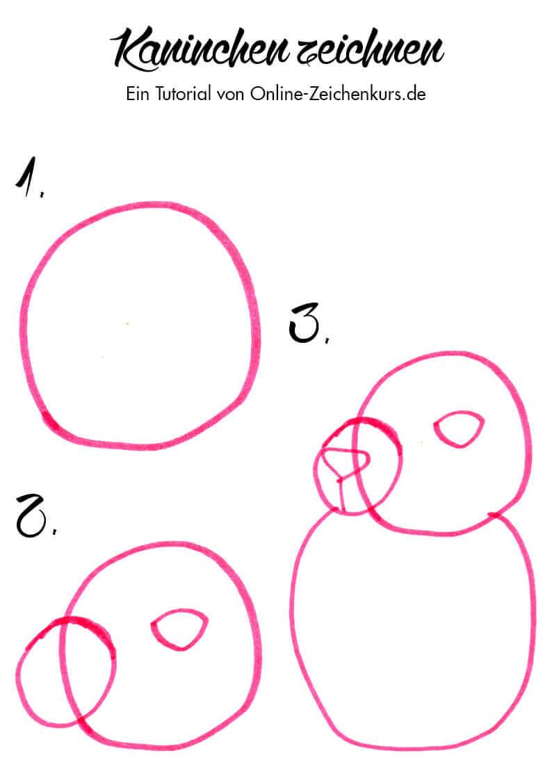 Tutorial: Kaninchen zeichnen 1