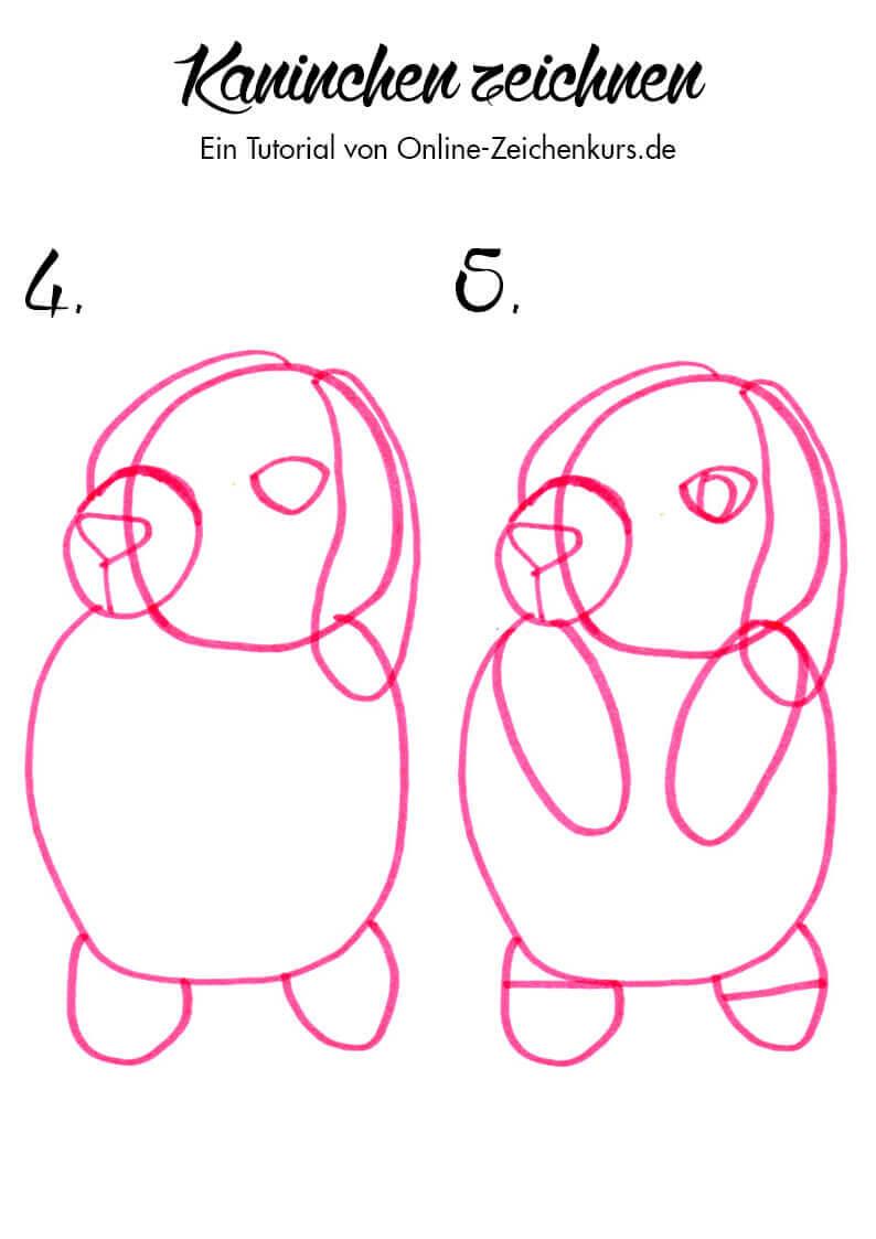 Tutorial: Kaninchen zeichnen 2