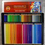 Review: Polycolor von Koh-I-Noor Hardtmuth Buntstifte