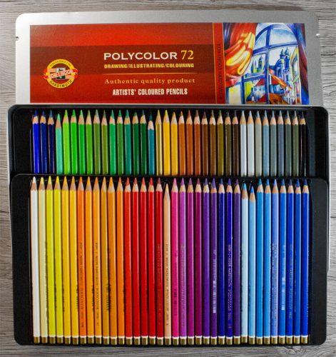 Koh-I-Noor Hardtmuth Polycolor 72 Buntstifte