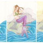 Mermai: Meerjungfrau malen – Nr. 2