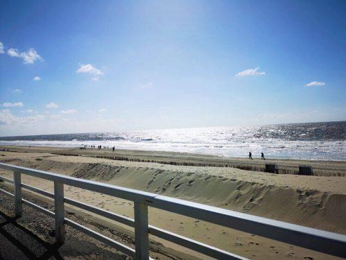 Nordseeküste Fotovorlage zum Abzeichnen Sandstrand 1